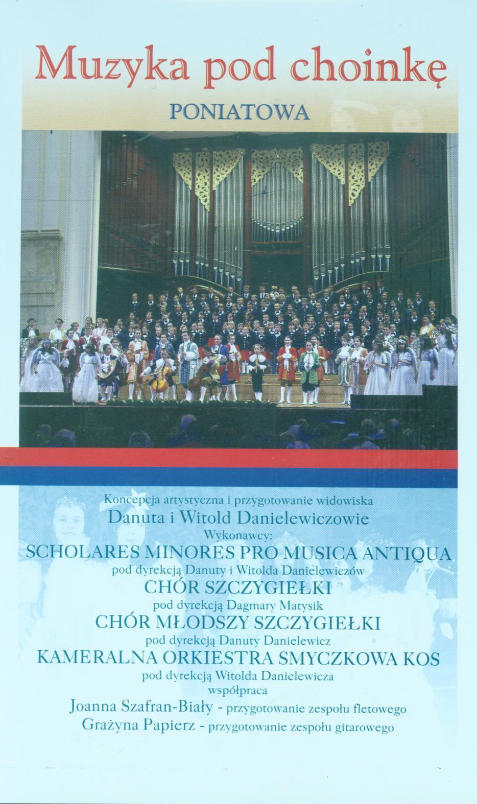 Muzyka pod choinkę - DVD