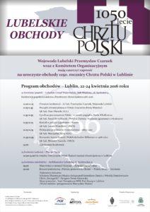 1050 lecie Chrztu Polski plakat A2 B (004)